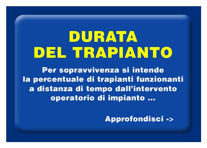 Cultura AIDO Lombardia - Durata del trapianto