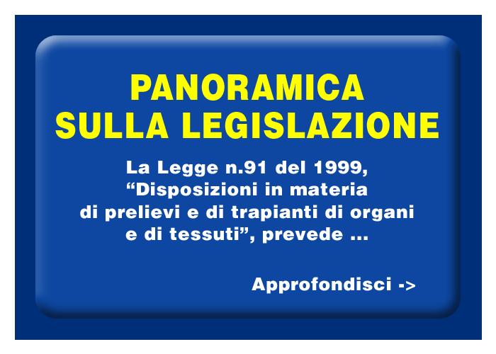 La legislazione sul trapianto di organi in Italia