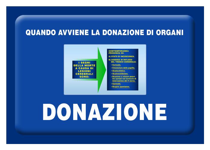 Quando avviene la donazione di organi