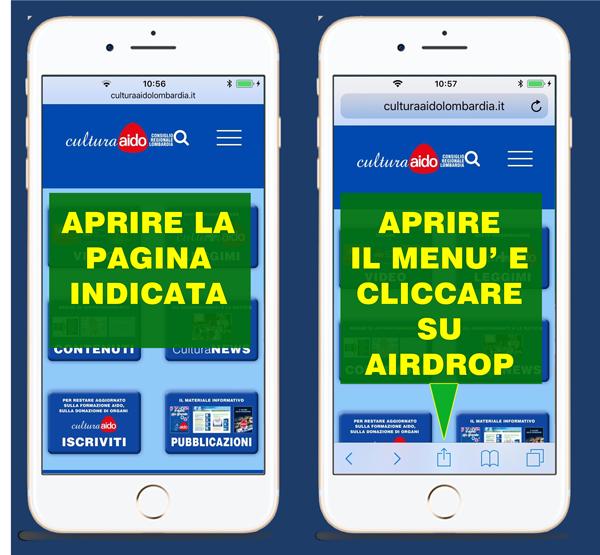 Installazione Web App Cultura AIDO Lombardia